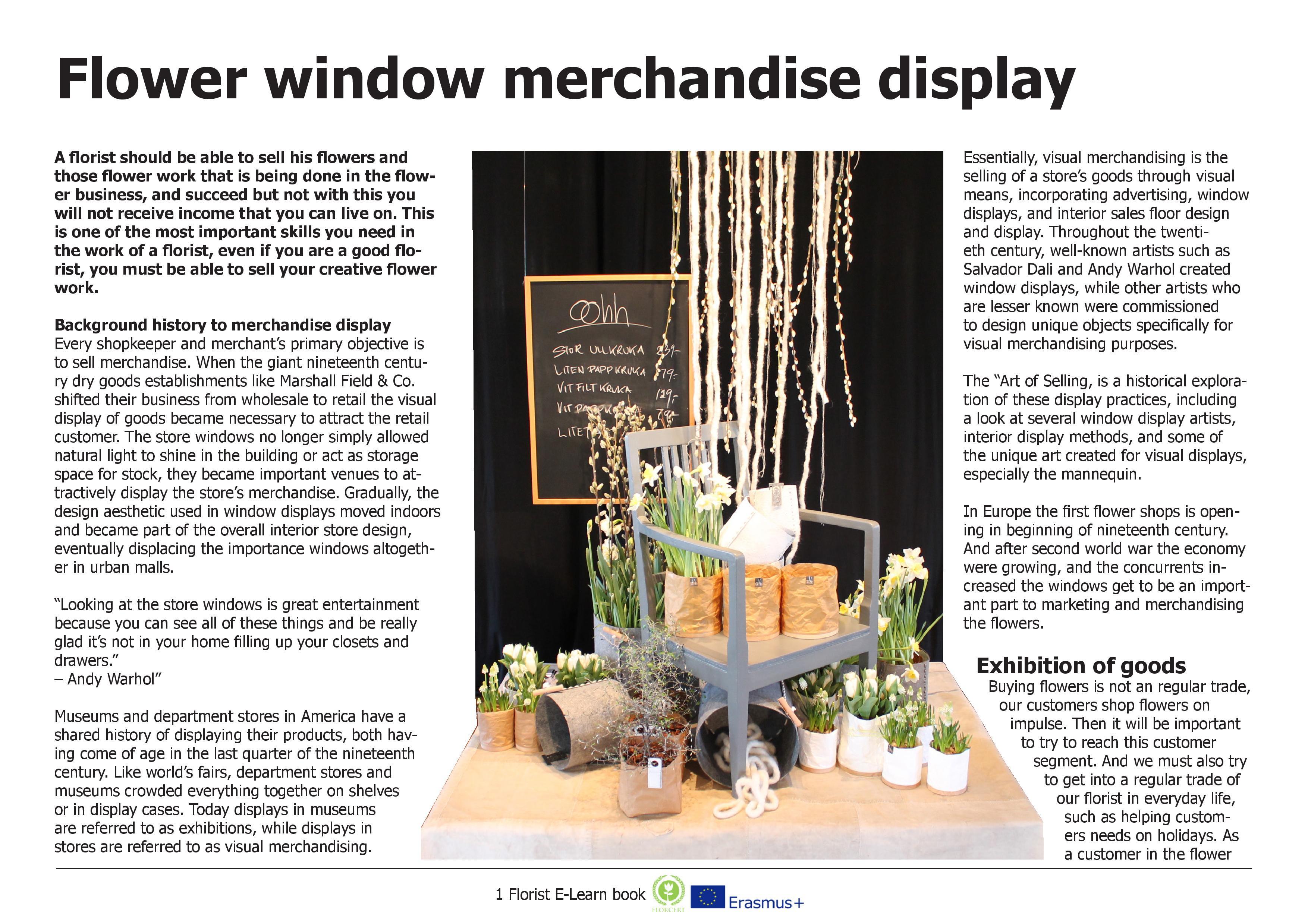 Florist E-Learn book in FlorCert